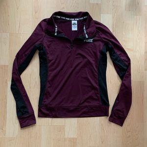 PINK Victorias Secret Athletic Pullover Jacket S